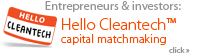 Learn more about Kachan & Co. cleantech capital matchmaking